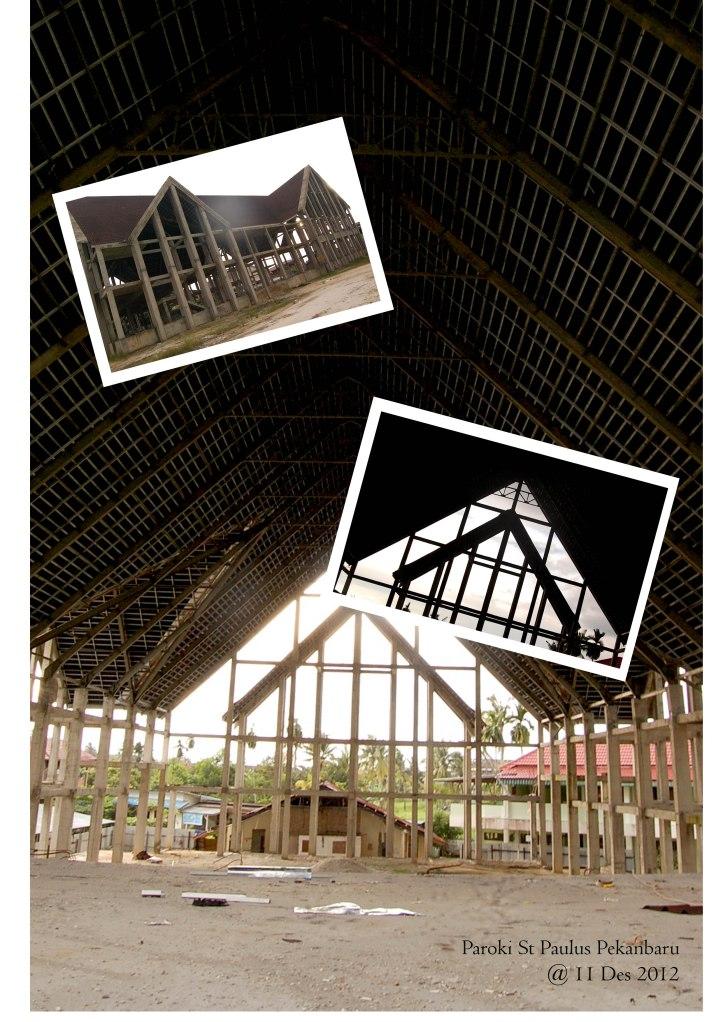 cetak atap gereja