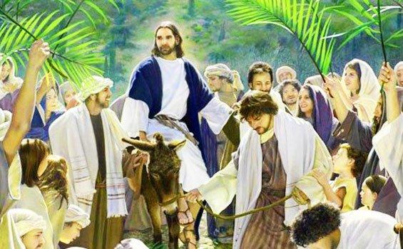 Yesus-naik-keledai
