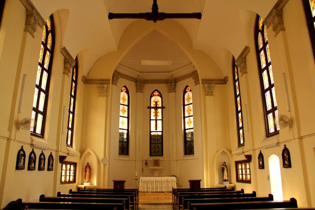 Kapel Mater Misericordiae, Biara Suster SCMM, Padang, Sumatera Barat