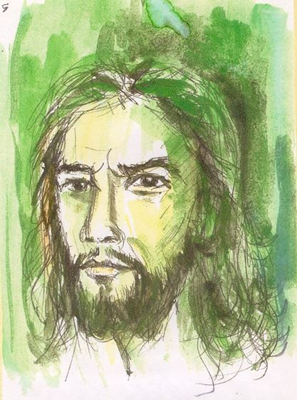 """Sang Sabda"" ~Lukisan Rm Anton Wahyudi, SX ~"