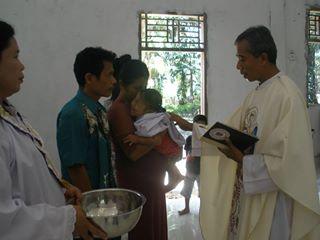 Baptisan kt bangun