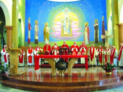 Ulangtahun tahbisan P Pancan SX ke-50 di Santuario Conforti - Italia