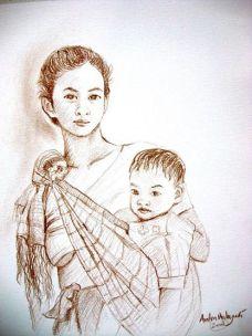 Lukisan Rm. Anton Wahyudi, SX