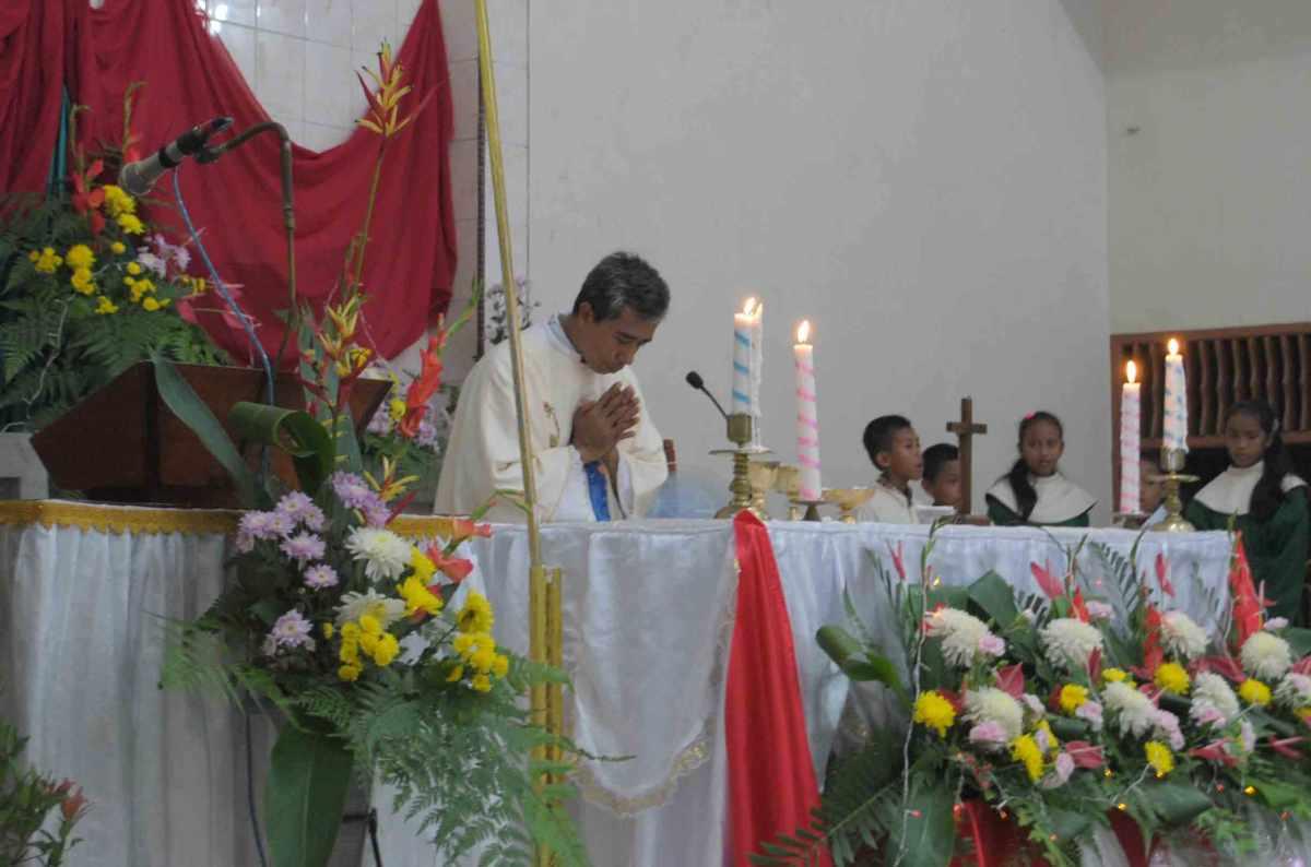 Doa Persembahan - Epiklesis Komuni