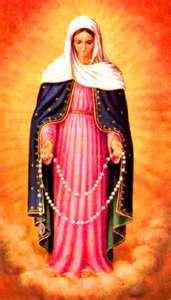 Santa Perawan Maria Ratu Rosario / internet