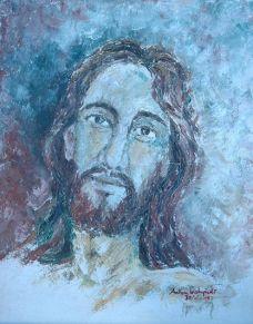 Lukisan: Pastor Anton Wahyudi, SX