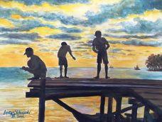 Lukisan : Rm Anton Wahyudi, SX