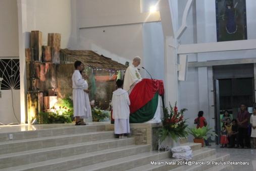 Pastor Otello Pancani SX - Homili malam Natal