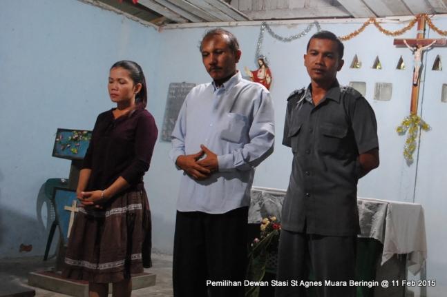 Pengurus Dewan Stasi St Agnes Muara Beringin Periode 2015 2017 / Dok: DPP