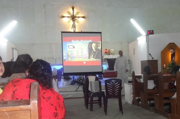 Mempromosikan panggilan dalam Misa pesta Peringatan St Guido Maria Conforti 2014 / Dok. Effen Meiliana