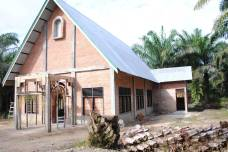 Gereja Stasi St Dionisius Kampung amai - Des 2014 / Dok Admin