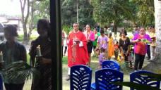 Perarakan masuk Gereja / Dok Prandika Ginting