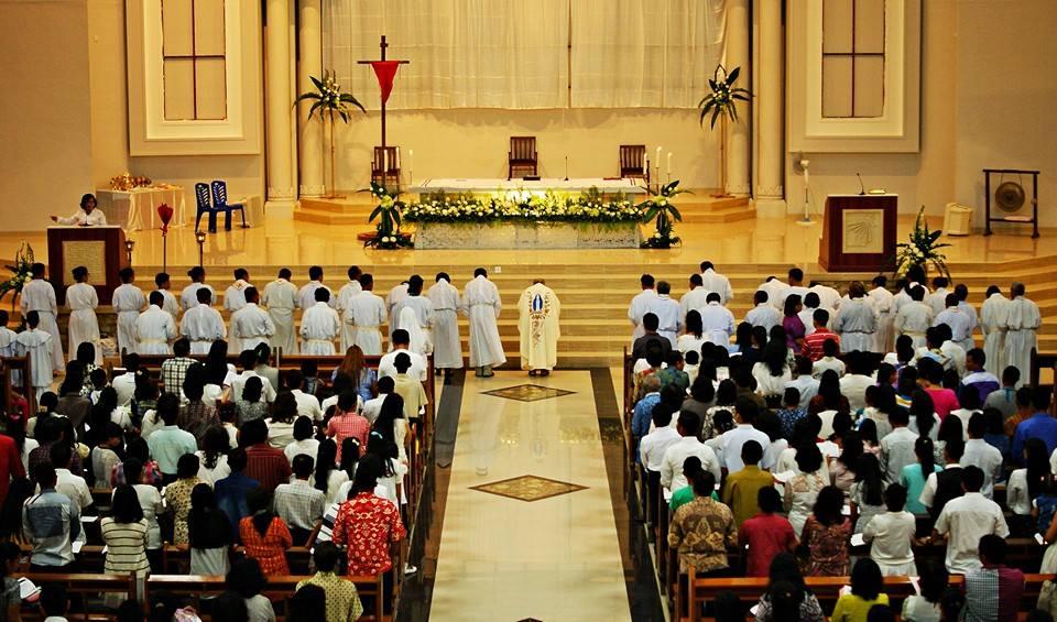 Paroki St Paulus Kamis Putih 2015 Paroki Santo Paulus