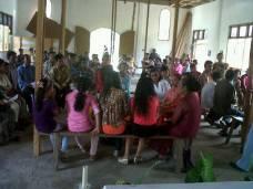Kunjungan Kelompok Kerasulan Kitab SUci ke Stasi St Fransiskus Xaverius Bukit Payung 2013 / Dok. KKKS