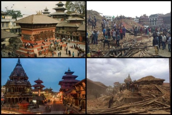 Nepal - Before and After / Foto dari Internet