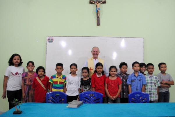 Pengakuan Dosa pertama pra Komuni pertama 9 juli 2015