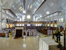 Perayaan Ekaristi dalam rangka Pemberkatan dan Peresmian Gereja Paroki 23 Ags 2015 - Foto Pastor Salvador Cruz,SX