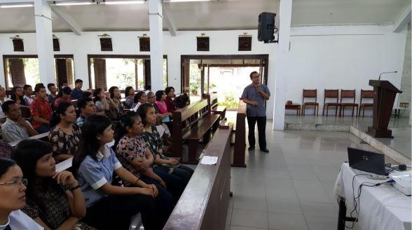 Pelatihan Lektor Mazmur 1