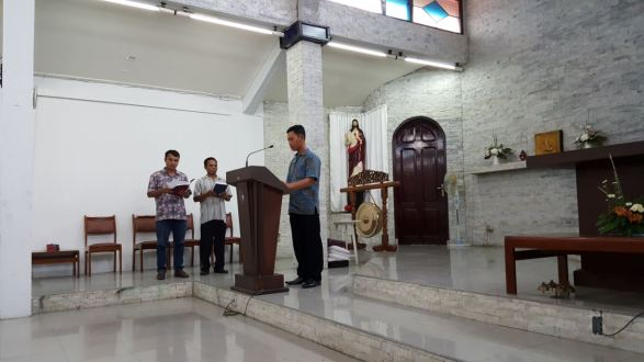 Pelatihan Lektor Mazmur 4