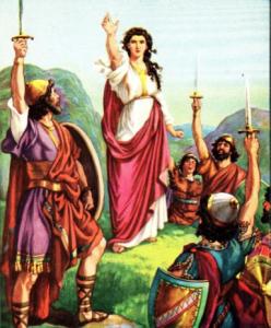 Debora, Hakim-Nabiah-Pahlawan