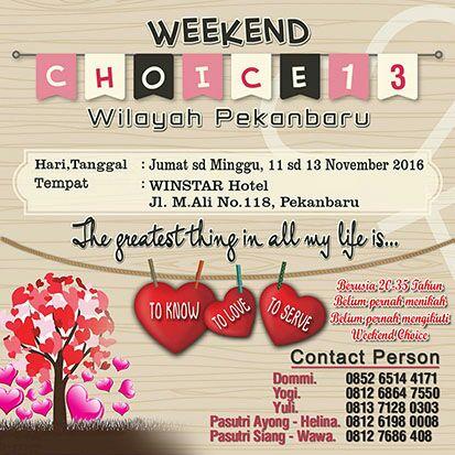 weekend-choice